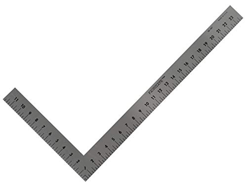 Fairgate 12' X 6' Half-Size L-Square Ruler #50-147 - Made in USA