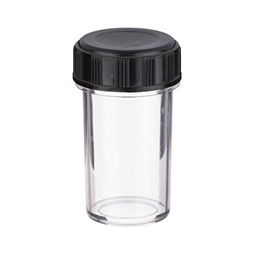 AmScope Plastic Container for Microscope Objective with RMS Thread