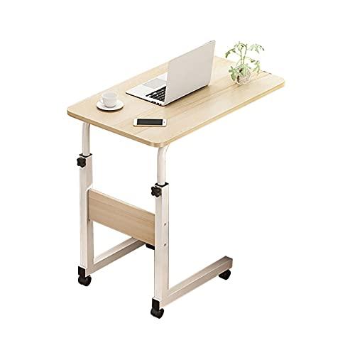Mesas para Ordenador Escritorio móvil -, Escritorio de Altura Ajustable Tresanti (Color : C, Size : 24×16×(27-33) Inch)