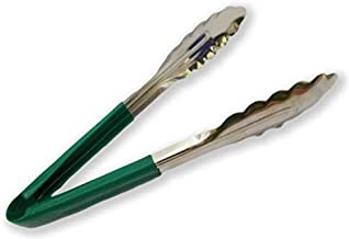 Kitchen Delli Utility Tong for Kitchen Tong for Frying Tong for Cooking Tong for Serving Green Colour