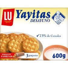 Lu Yayitas Desayuno Galletas Dorados Al Horno, 600g