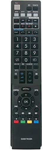 ALLIMITY GA841WJSA Telecomando Sostituisci per Sharp AQUOS RRMCGA841WJSA LC-32LE600E LC-32LU700S LC-32LU705E LC-32LX700RU LC-32LX705E LC-40LE600S LC-40LE700E LC-40LE705S LC-40LU700E