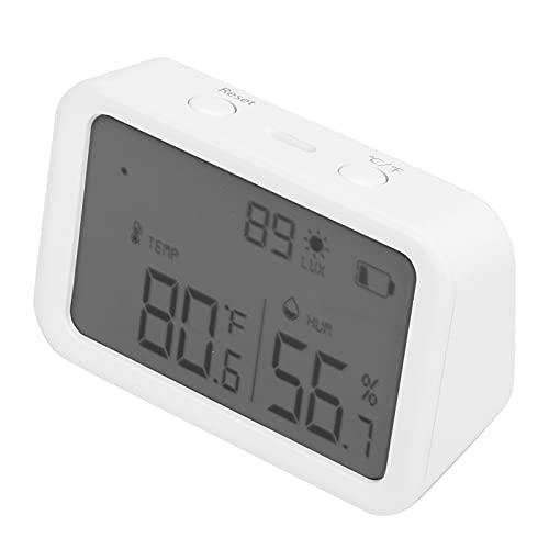 CUTULAMO Sensor De Temperatura Y Humedad, Medidores De Temperatura Y Humedad Electrónicos Digitales Profesionales Inalámbricos para Bodega para Invernadero