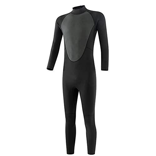 Traje De Buceo Hombres 3mm Ultra Premium Neopreno Neopreno Traje De Cuerpo Completo Volver Zip Chapo Traje De Baño Para La Pesca Submarina Snorkel Piragüismo Baño De Una Pieza Deportes Mojado Traje