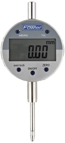 "Fowler 1""/25mm Indi-X Blue Electronic Indicator, Full Warranty, Direct Inch/Metric conversion, 54-520-250-0"