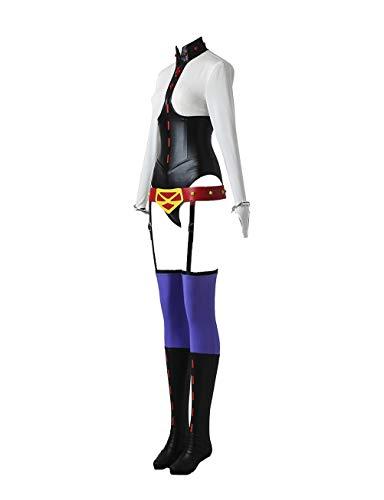 WOSHOW My Hero Academia Midnight Nemuri Kayama Cosplay Costume Outfit Halloween Adult Costume Custom Made