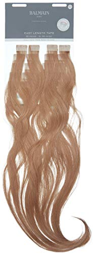 Balmain Easy Length Lot de 20 extensions de cheveux humains 8A Blond cendré naturel 82 g Longueur 55 cm