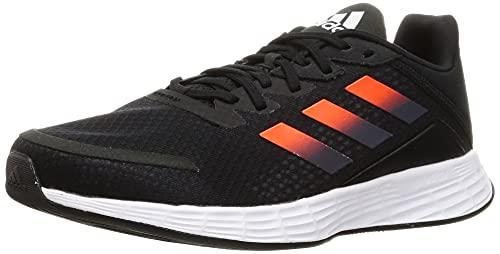 Adidas Duramo SL, Zapatillas Hombre, Black/Orange, 43 1/3 EU