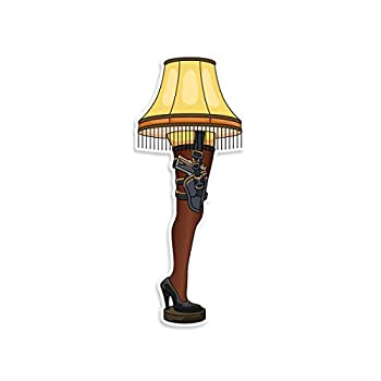 A Christmas Story Leg Lamp 2A Vinyl Decal by NEO Tactical Gear - Made in The USA  3