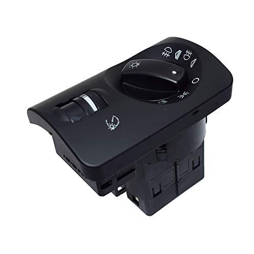 FangFang Faro Fog Fog Light Control Auto Nivelación Negro Facelift Brillo Ajuste para A6 4B C5 Avant 4B1941531E (Color : Black)