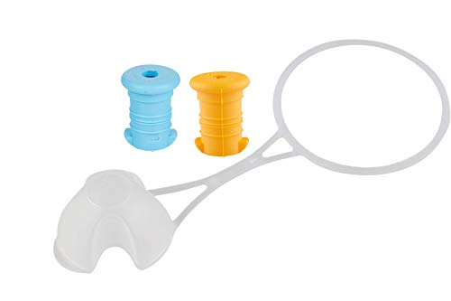 Eco Gourde La Gourde écologique 0,5L Enfant sans BPA Bouteille d'eau Incassable Durable et Sympa! Made in EU (Kit d'Accessoire