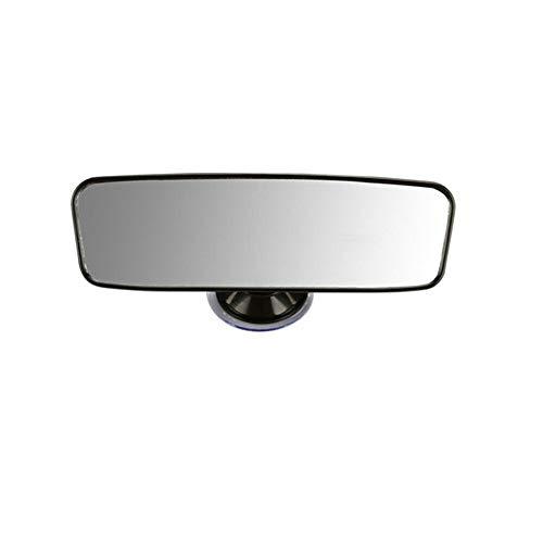 360°Justierbarer Innenspiegel Rückspiegel Auto, Universal Windscreen Suction Cup 360 Grad Mirror Innen Rückspiegel Auto-LKW-Innenraum Saugnapf Spiegel-Auto-Zubehör