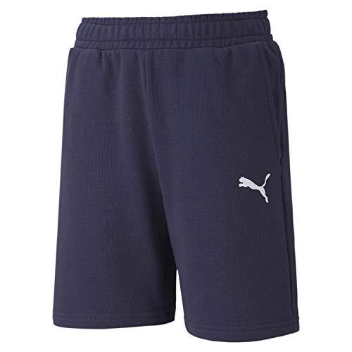 PUMA teamGOAL 23 Casuals Shorts Jr Mixte Enfant, Peacoat, FR Unique (Taille Fabricant : 116)