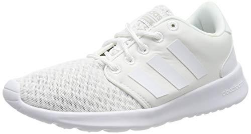 adidas QT RACER, Damen Laufschuhee, Weiß (Ftwr White/Aero Pink S18/Light Granite), 38 EU (5 UK)