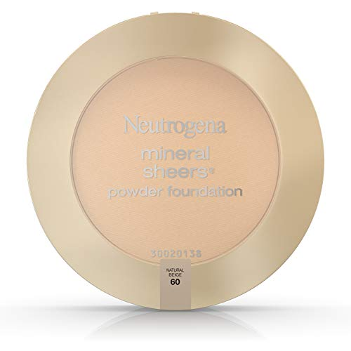 Neutrogena Mineral Sheers Powder Foundation, Natural Beige 60, 0.34 Ounce by Neutrogena