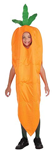 Forum Novelties Fruits and Veggies Collection Carrot Child Costume, Medium