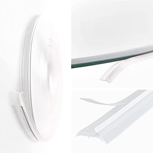 3-fach Staubschutz Dichtlippe 4,5m Schmutzlippe Glasbodenplatte Glas Bodenplatte // kostenloser Versand