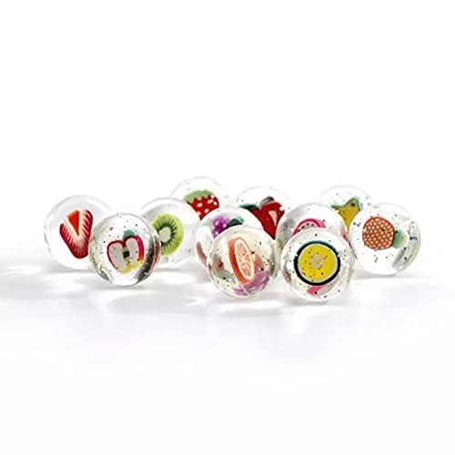 AUCYV 100 canicas de vidrio de ojo de gato multicolor para niños: las canicas oscuras para canicas, juego de canicas brillantes de vidrio para niños, decoraciónbolas de decoración de acuario