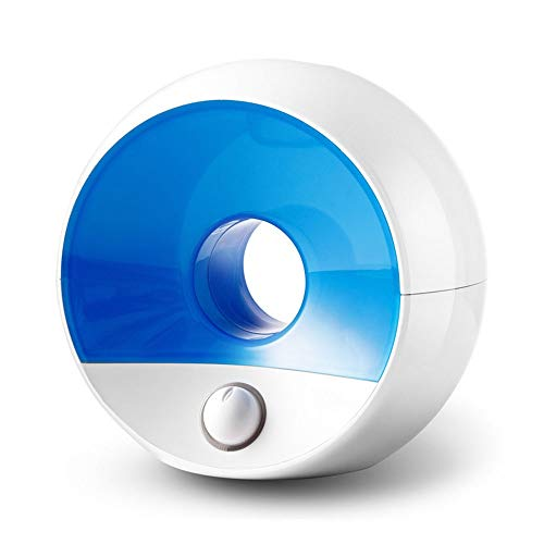 Dkee-Luftbefeuchter. Haushalt Stumm 1.8L Große Kapazität Negative Ionen Nachtlicht Mangel An Wasser Automatische Ausschalten Kalten Katalysator Filter ABS Material Silberionen Gerät Aroma Luftbefeucht