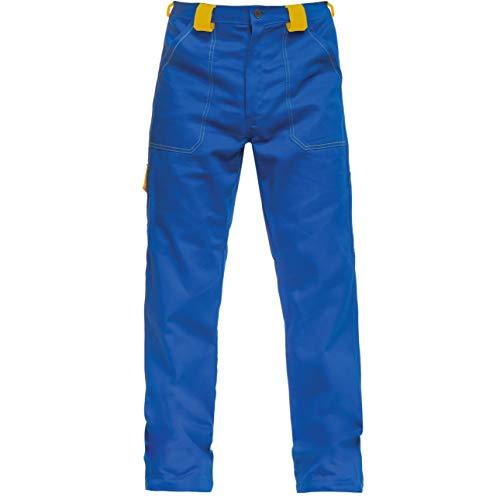 BWOLF ARES 100% Baumwolle Arbeitshosen Männer Arbeitshose Herren (Königsblau, XL)