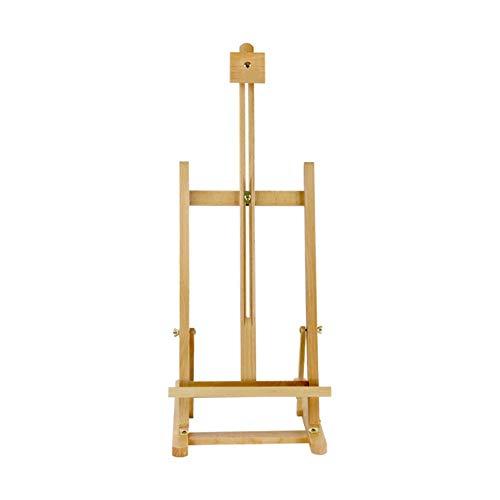 HELLEN Caballete plegable de madera de haya mesa de escritorio para niños de arte portátil caballete dibujo pintura Z-20-9-3