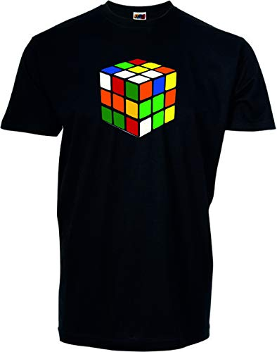 DrMugCollection Camiseta Cubo (XXL)