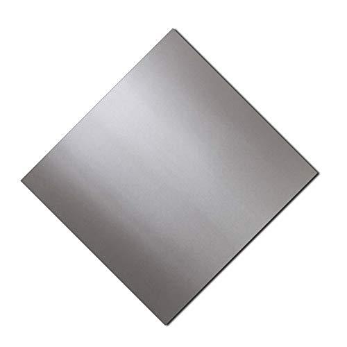 IQQI Espesor 1 mm, Placa De Chapa De Acero Inoxidable 304 Adecuada para Doblar Y Cortar (150 * 150/200 * 200 mm),200 * 200 * 1mm