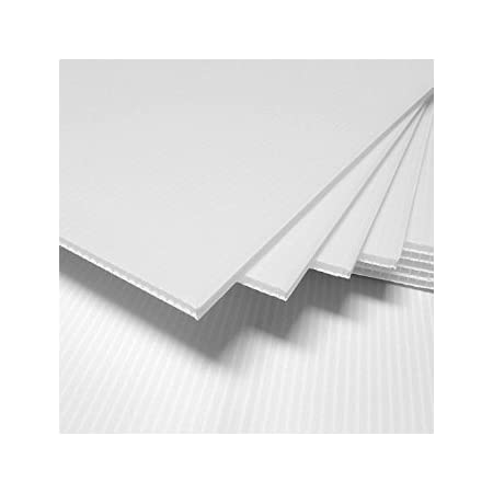 Coroplast for Guinea Pig Cage 24 x 36 Pack of 4-4 Pack 24x36 Corrugated Pla...
