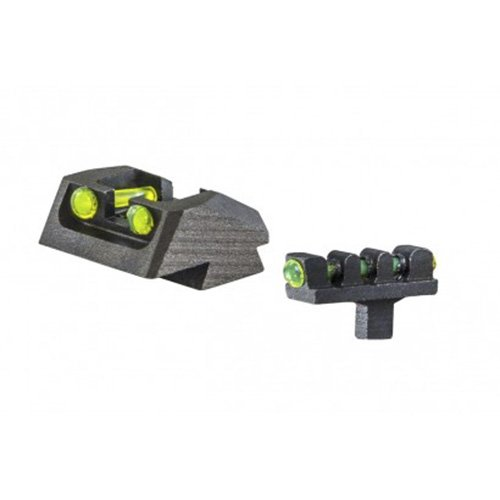 Buy Discount 1911 Mil Spec, 80 Series Style Fixed Fiber Optic Sight Set Green Rear, Green Front