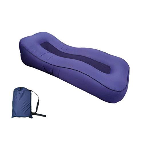 Nicetruc Aufblasbare Lounger, Faul aufblasbares Bett Inflated Bett-Luft-Sofa Air Couch für Hinterhof, Swimming-Pool, Beach-Parties, Reisen und Camping Picnic (190 * 80 * 55cm)