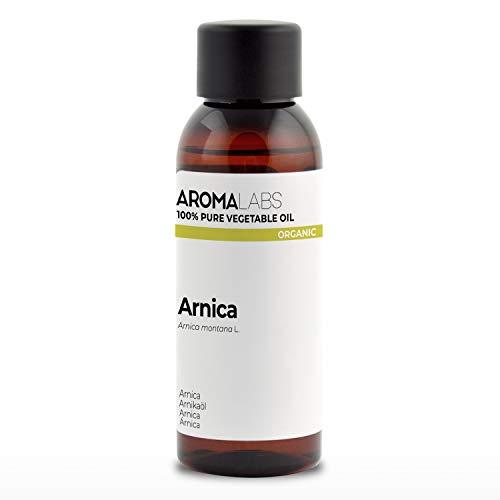 100% BIO - Macérât huileux dARNICA - 50mL - Garanti Pur, Naturel, Certifié Biologique - Aroma Labs (Marque Française)