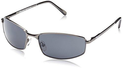 Klassische Marken Sonnenbrille für Herren von Burgmeister mit 100% UV Schutz   Sonnenbrille mit stabiler Metallfassung, hochwertigem Brillenetui, Brillenbeutel und 2 Jahren Garantie   SBM116-181