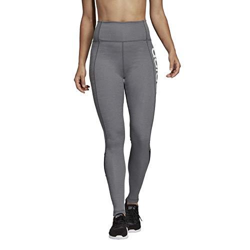 adidas W D2M LO HR LT Tights, Mujer, Black/White, M