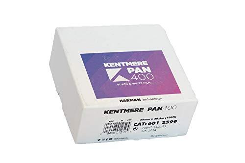 ケントメア 高感度モノクロフィルム Kentmere PAN 400 135-30.5m巻き KMP400135100F