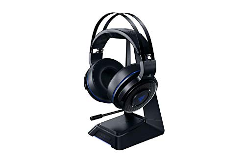 Razer Thresher Ultimate for Playstation 4 Kabelloses Gaming Headset (mit 7.1 Dolby Surround Sound, ausziehbarem Mikrofon, 50 mm Treibern und maximalem Komfort)