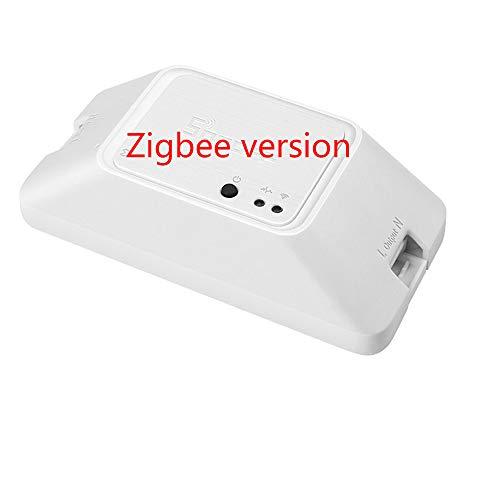 yunlink SONOFF RFR3 Smart WiFi Schalter mit Timer-Funktion, RF Kontrollschalter 433 MHz, ewelink App, Vocale Steuerung für Alexa, Google Nest, IFTTT with rm 433 Basiczbr3 Zigbee