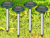 Antirongeurs à énergie solaire-taupe-choix de 4