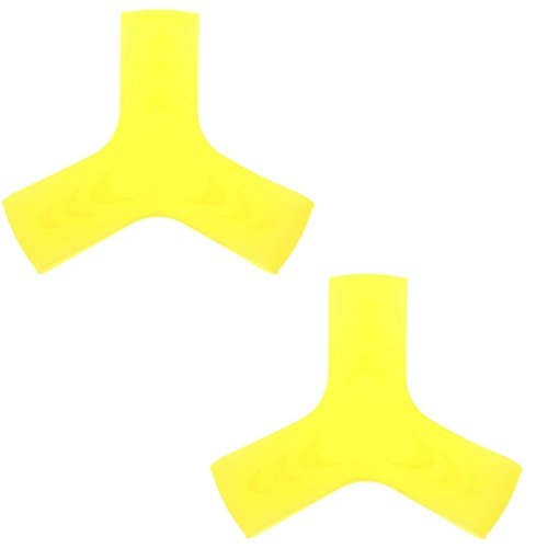 1 Paar Flossenhalter Kreuzband für Schwimmen Schnorcheln Tauchen Schwarz L