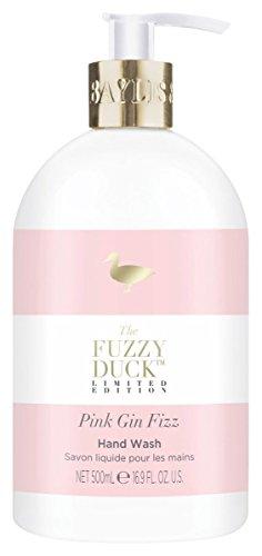 Holland Plastics Original Brand Baylis & Harding Fuzzy Ente Pink Gin Fizz Limited Edition Handwäsche 500ml