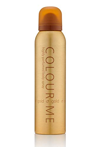 Colour Me by Milton-Lloyd Gold Fragrance Spray pour Homme, 150 ml