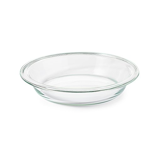 "Freezer-to-Oven Safe Glass 9"" Pie Plate,Clear"