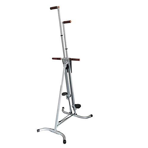 Gvqng Stepper Escalador Vertical Plegable, Plegable y Encogible Sin Ocupar Espacio, Simular Movimientos de Escalada, Ideal para Entrenamiento Intervalos de Alta Intensidad