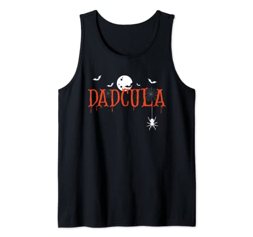 Hombre Dadcula Halloween Pap Drcula Monster Creepy Horror Costume Camiseta sin Mangas