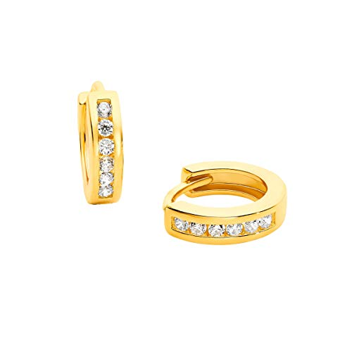 Prinzessin Lillifee Kinder-Ohrringe Creolen Silber vergoldet 2029722