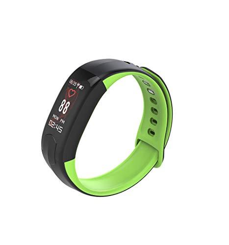 HKPLDE Fitness Tracker/Podómetro Monitor de sueño IP67 Impermeable para Hombres Mujer Smartwatch Calorías Notificación de Llamada para Android e iOS-Verde