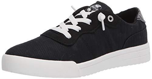 Roxy Women's Cannon Slip On Sneaker Shoe, Black, 10 M US