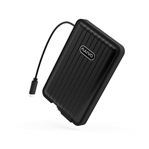 Belity Portable Hard Disk Box Suitable for 2.5in SATA Port and Less Than 9.5MM(HDD or SSD) Waterproof USB3.1 Type-C Shockproof