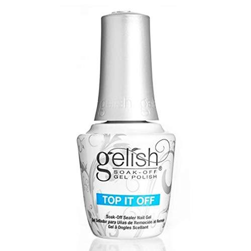 Harmony Gelish Laca de uñas en gel que se seca con UV/LED - capa base y capa base superior - 2 botes de 15ml