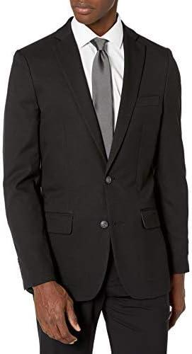 Haggar Men's Stretch Gab Slim Fit 2-Button Suit Separate Coat
