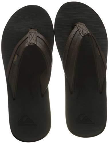 Quiksilver Carver Squish, Zapatos de Agua. Hombre, marrón y Negro, 39 EU
